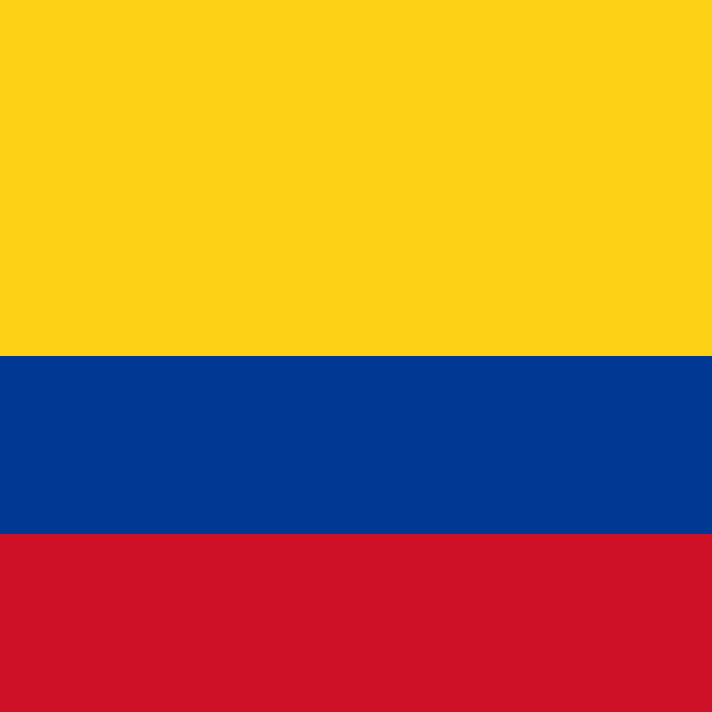 """""""Flag of Colombia"""" stock image"""