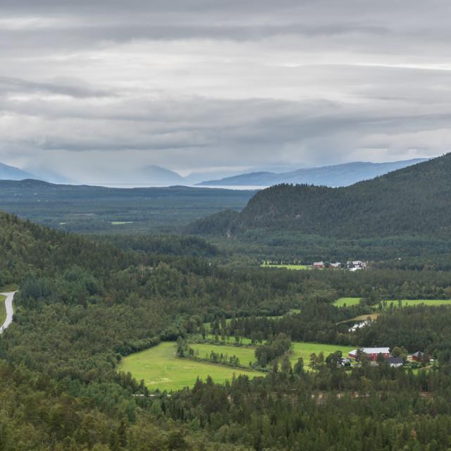 """Alta valley"" stock image"