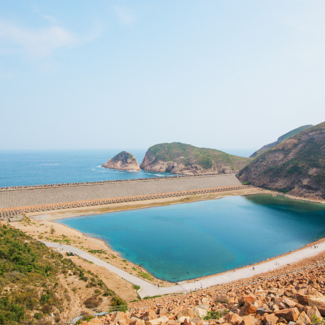"""Hong Kong High Island Reservoir"" stock image"