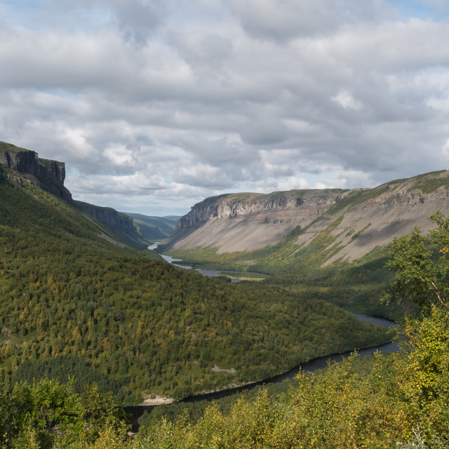 """Alta canyon"" stock image"