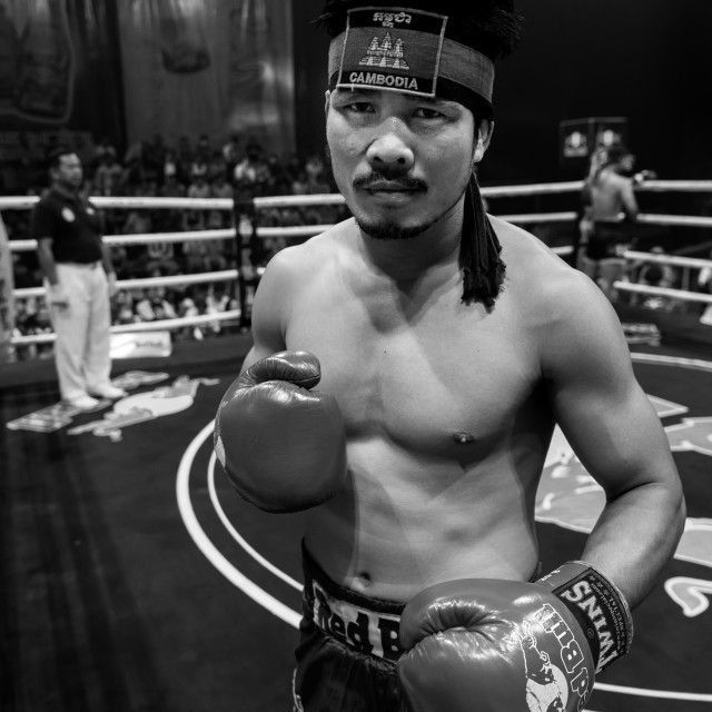 """Kun Khmer fighter"" stock image"