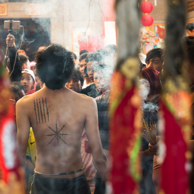 """Hei Neak Ta ceremony"" stock image"
