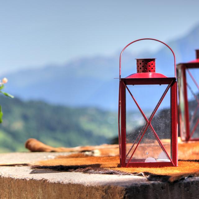 """""""Red lantern"""" stock image"""