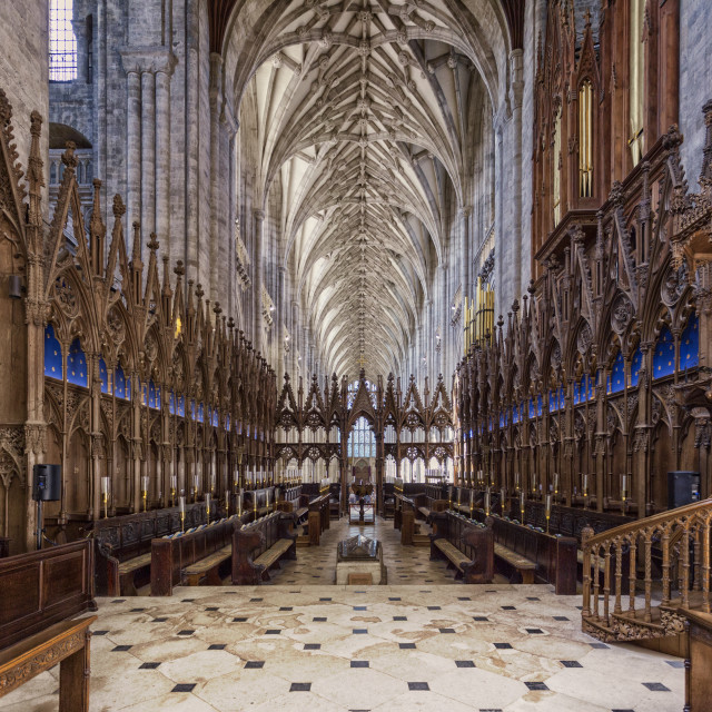 """Winchester Cathedral III"" stock image"