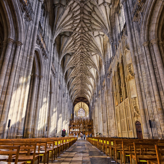 """Winchester Cathedral IV"" stock image"