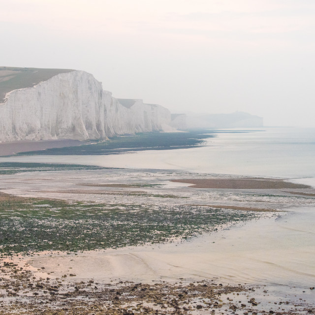 """Seven Sisters, Cuckmere Haven, east sussex"" stock image"