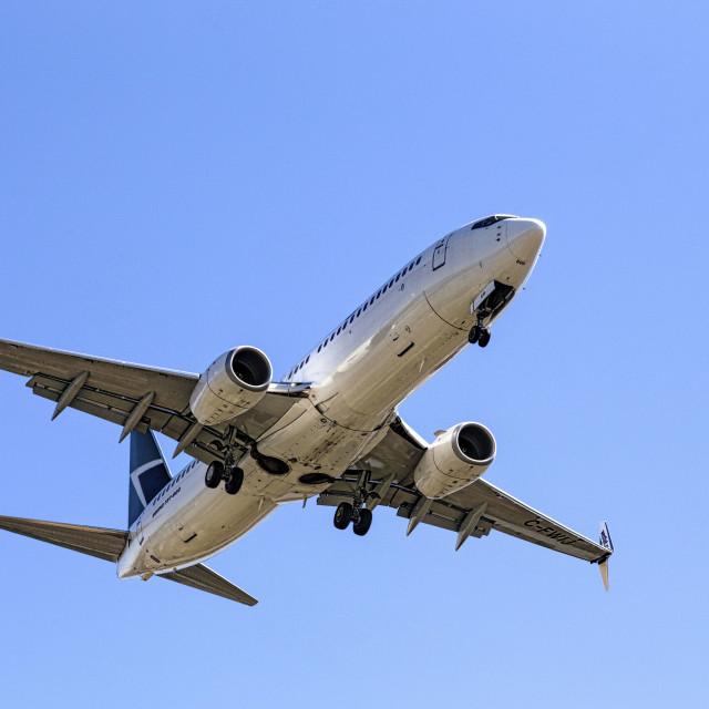"""Passenger Jet"" stock image"