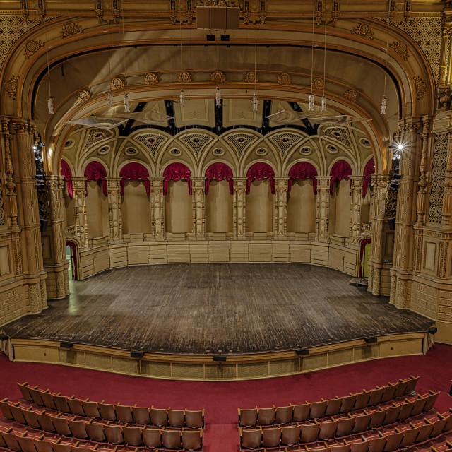 """Theatre Center View"" stock image"