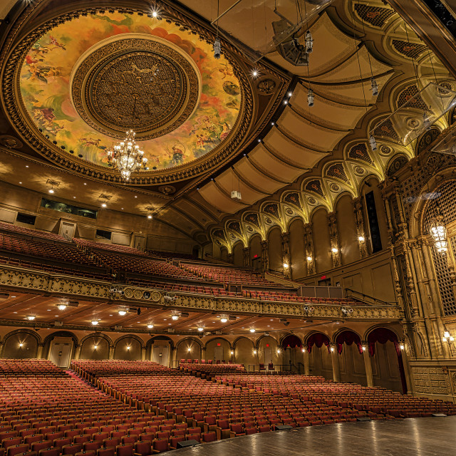 """Theatre Stage"" stock image"