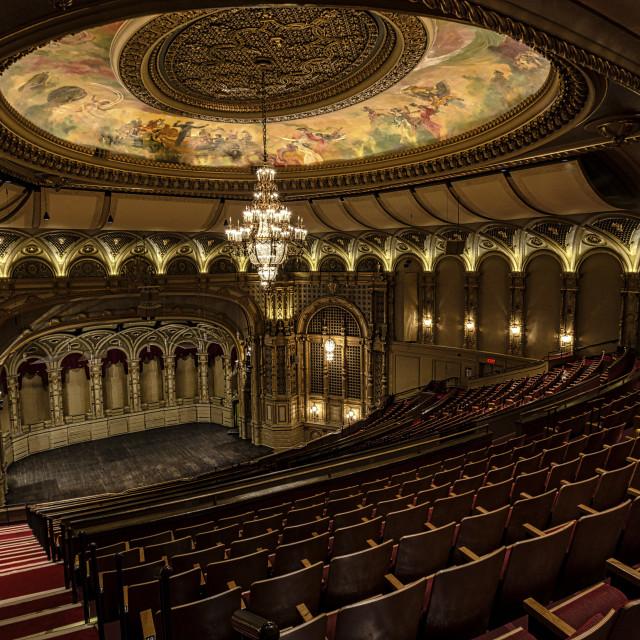 """""""Theatre Balcony"""" stock image"""