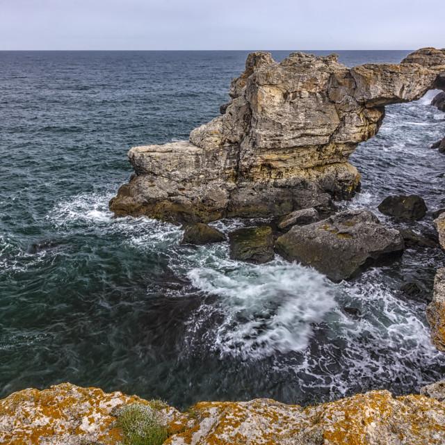 """spectacular cliffs landscape"" stock image"