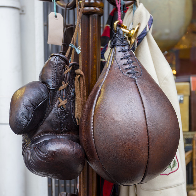 """""""Leather Sports"""" stock image"""