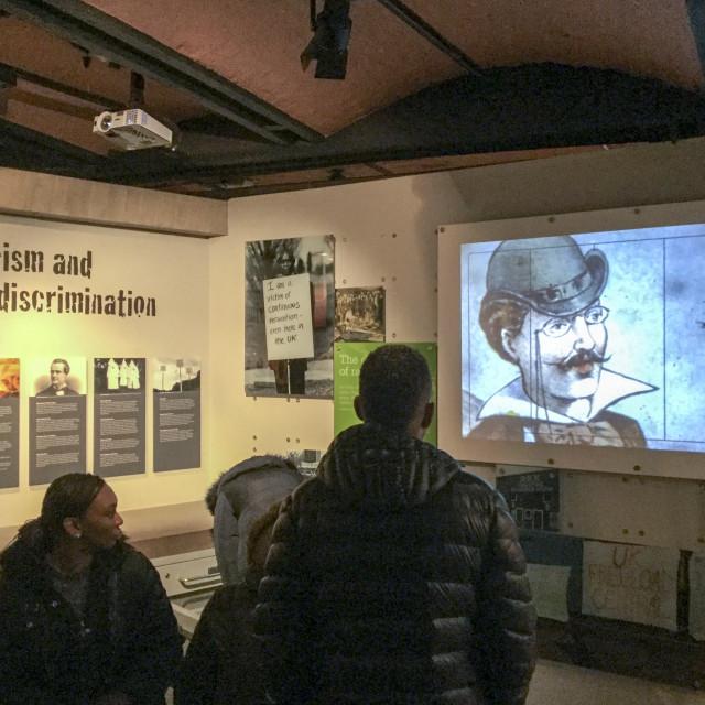 """""""International Slavery Museum"""" stock image"""