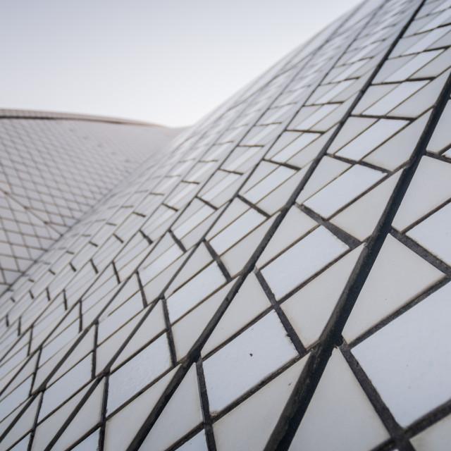 """Sydney opera house detail"" stock image"