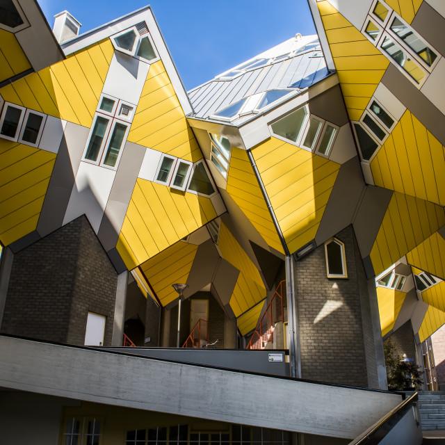 """Cube Houses Rotterdam"" stock image"