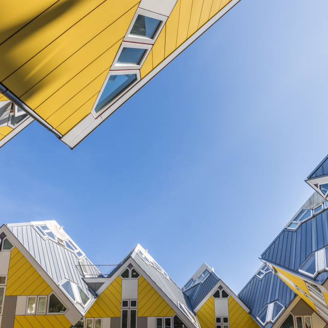"""Cube Houses Rotterdam Sky"" stock image"