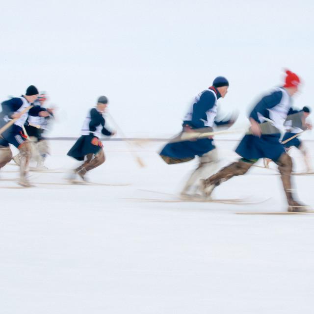 """""""Nenets race"""" stock image"""