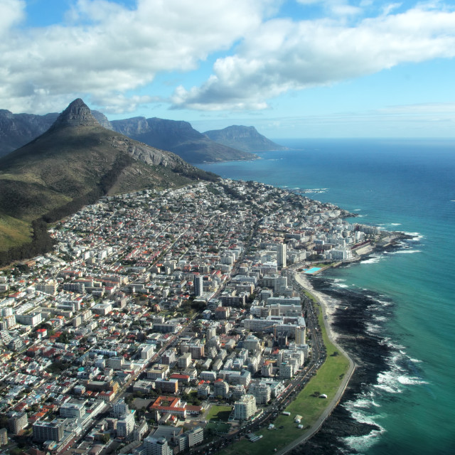 """""""Lion's Head and Seapoint"""" stock image"""