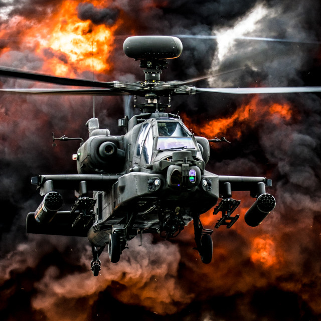 """Apache Blast"" stock image"