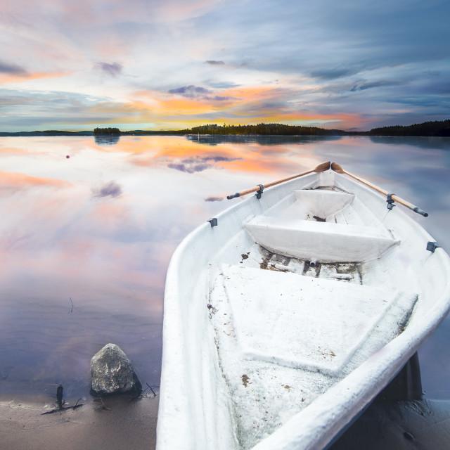 """""""Rowingboat"""" stock image"""