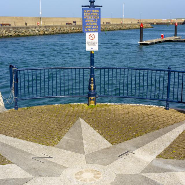 """Bangor Harbour, Northern Ireland"" stock image"