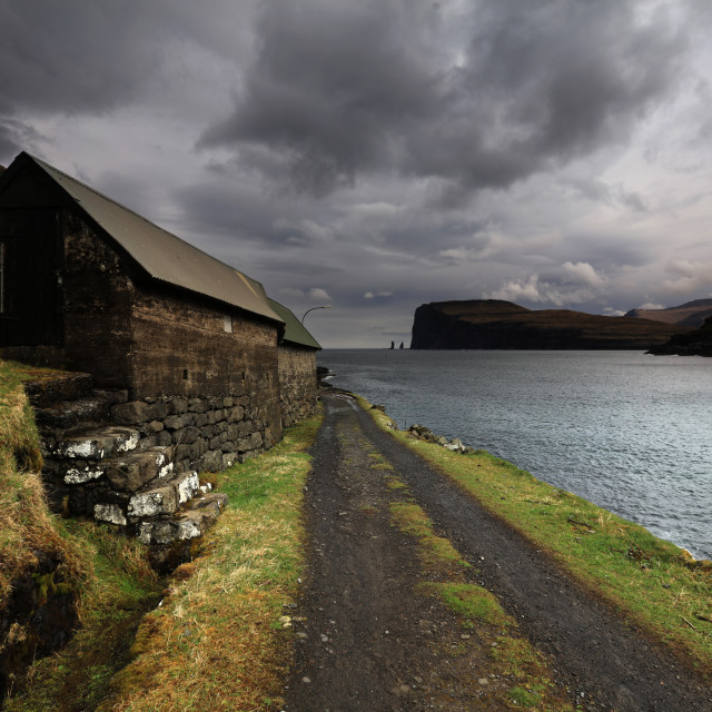 """Tjornuvik, Faroe Islands"" stock image"