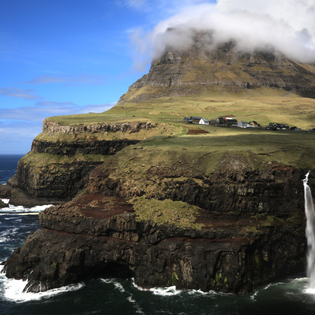 """Gasadular, Faroe Islands"" stock image"