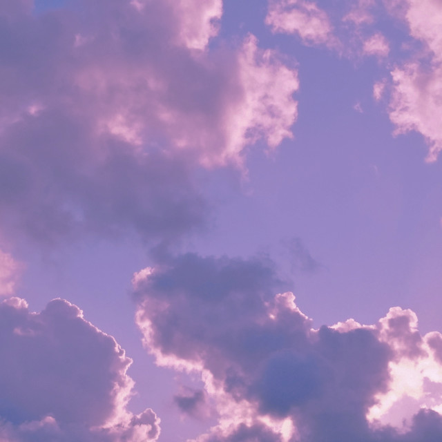 """""""Soft pastel clouds"""" stock image"""