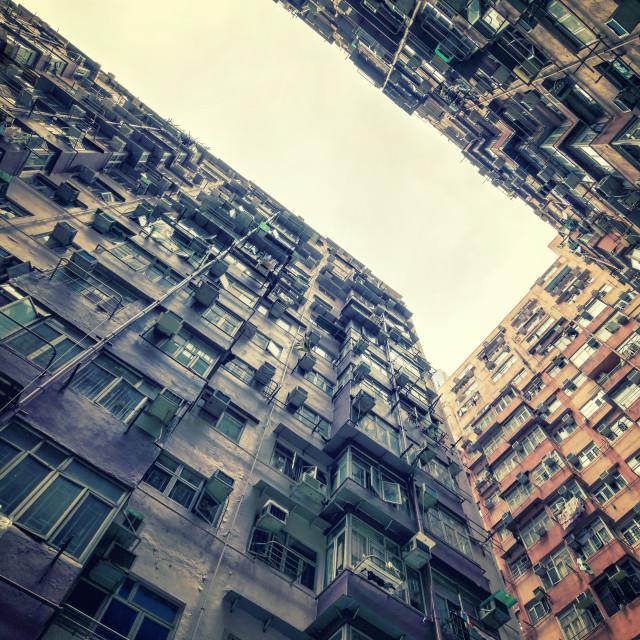 """Thousand Homes Thousand Stories: Quarry Bay, Hong Kong"" stock image"
