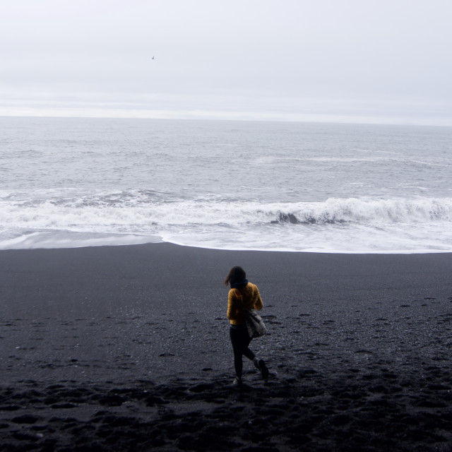 """Black Sand"" stock image"