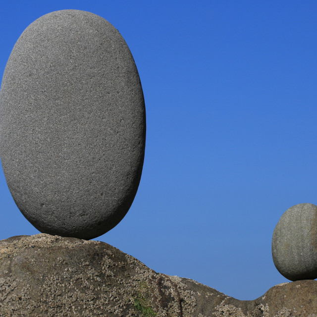 """Rocks Balancing"" stock image"