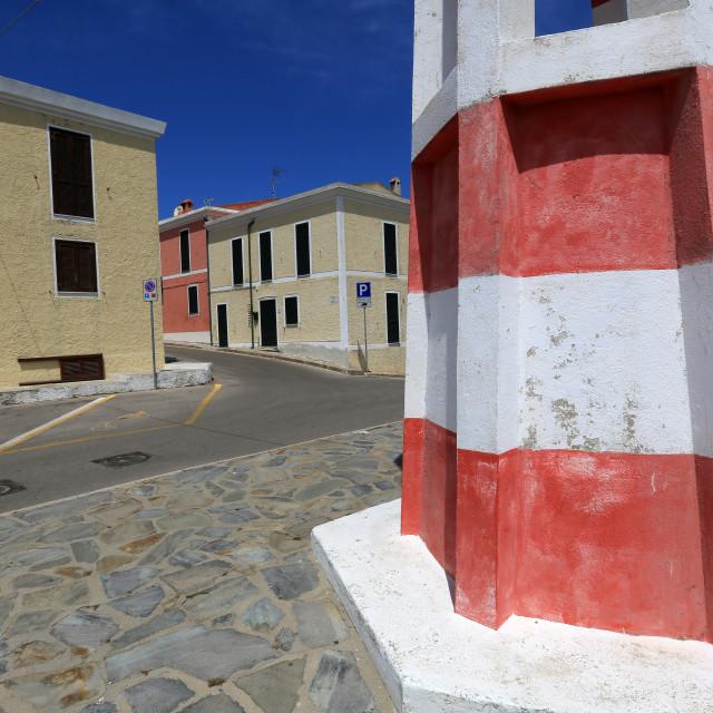 """""""Stintino, Sardinia"""" stock image"""