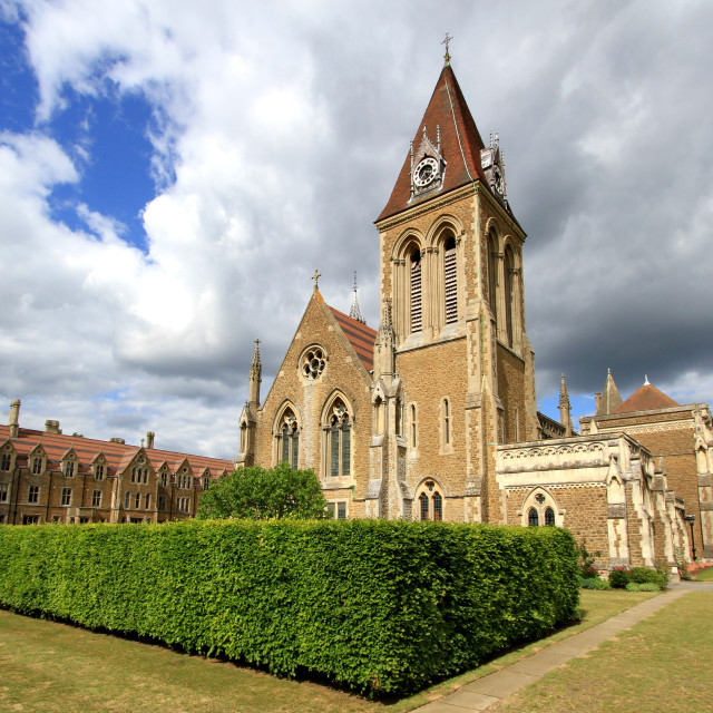 """Charterhouse School, Godalming, Surrey"" stock image"