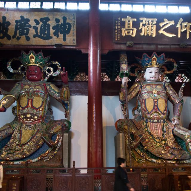 """""""Buddhist Gods"""" stock image"""
