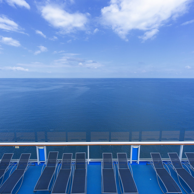 """""""Sound of Silence: Comfy Vacation Cruise - South China Sea"""" stock image"""
