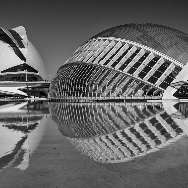 """Valencia City of Arts and Science"" stock image"