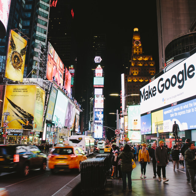 """""""Times Square"""" stock image"""