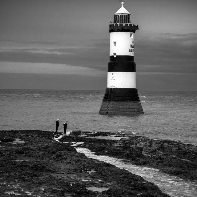 """Black Point Lighthouse"" stock image"