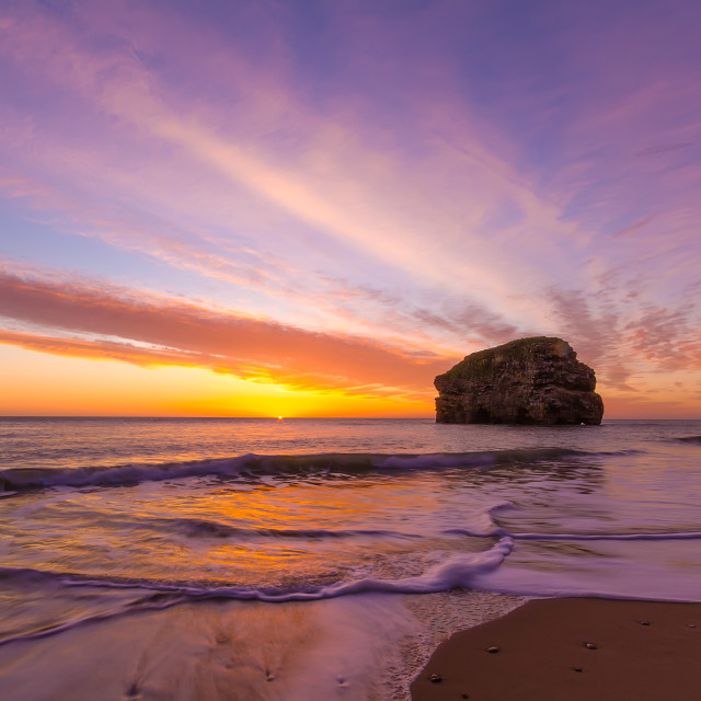 """Marsden Bay Sunrise"" stock image"