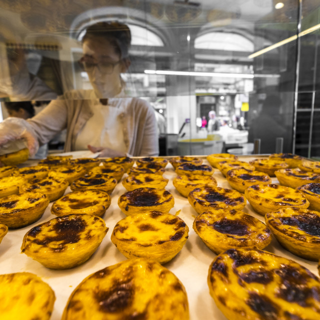 """""""Traditional portuguese pastries"""" stock image"""