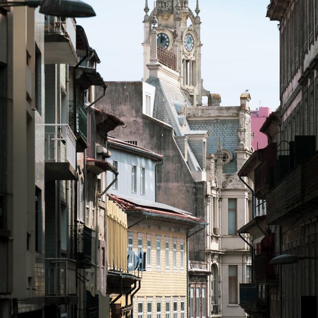 """Porto downtown Portugal"" stock image"