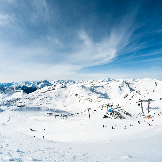 """modern ski resort"" stock image"