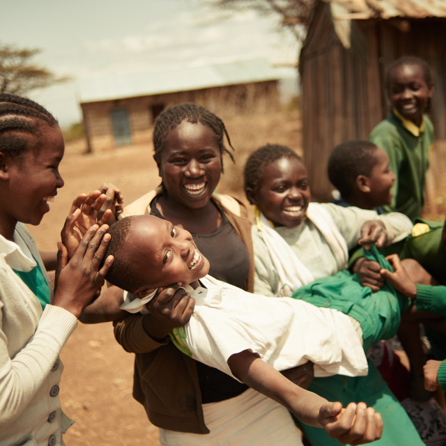 """School theatre in Kenya"" stock image"