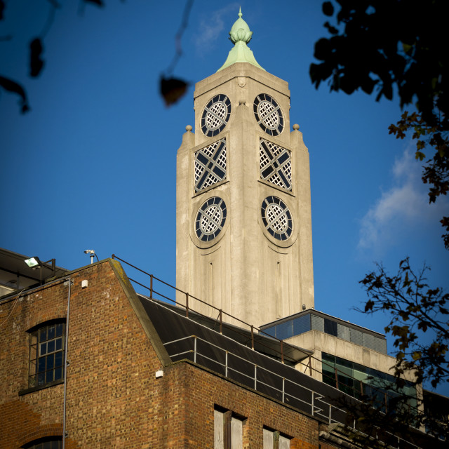 """The OXO Tower, London, Britain"" stock image"
