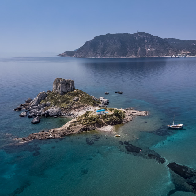"""The Kastri islet Greece"" stock image"