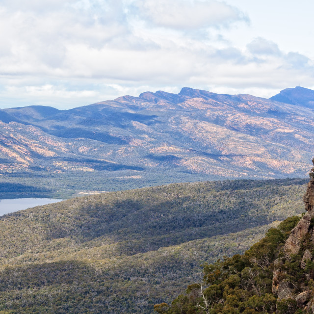 """View from the Pinnacle - Grampians"" stock image"