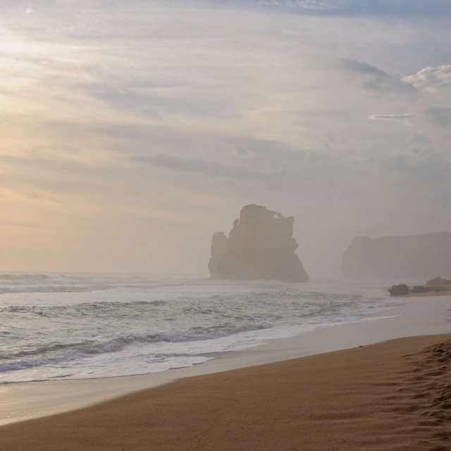 """""""Gibson Steps Beach - Port Campbell National Park"""" stock image"""