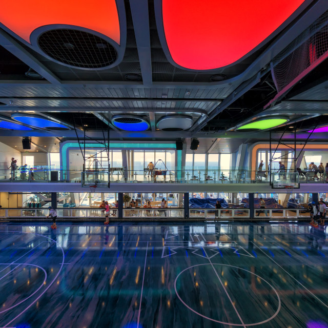"""Sports Complex: Cruise Vacation"" stock image"