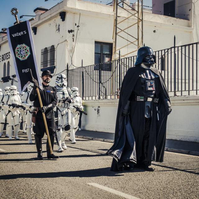 """Star Wars Parade"" stock image"