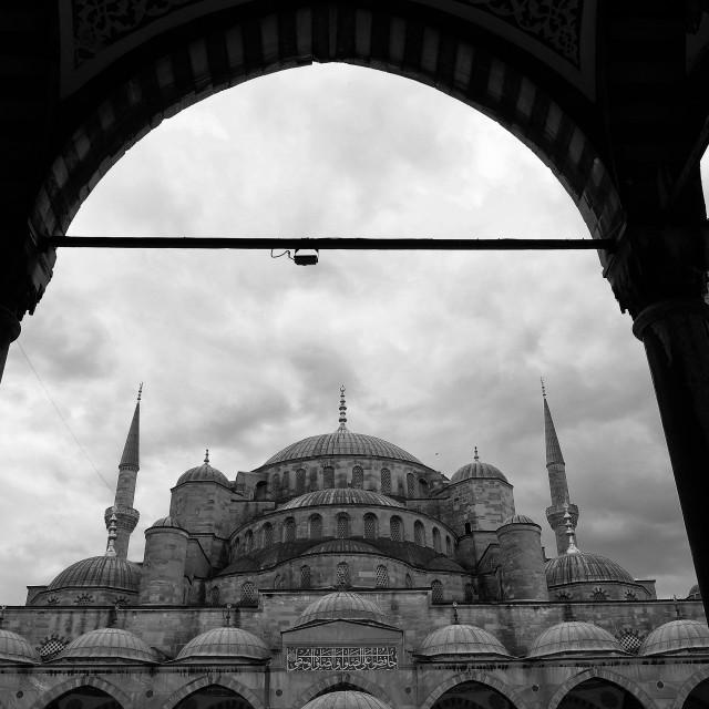 """""""Suleymaniye Mosque"""" stock image"""